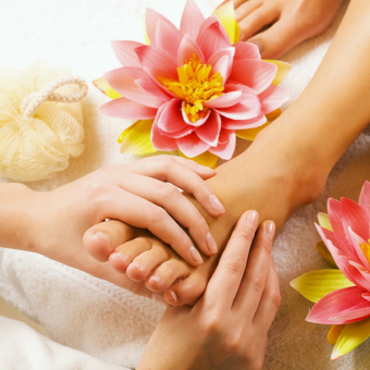 Organic Spa Manicure & Pedicure Services